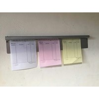 Penjepit Kertas Gantung Note Holder Stainless Steel