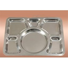 Snack Food Stainless Steel Divider Tray