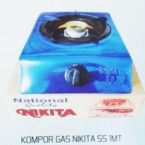 Kompor Gas Teflon & Stainless Steel Nikita
