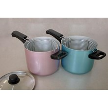 Panci Deep Multi Fryer Aluminium Warna
