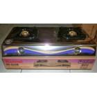 Kompor Gas Tungku Teflon Stainless Steel Rinnai RI 522C 522E 4