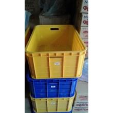 Box Container Bak Industri Plastik Buntu Piring Tahu Dengan / Tanpa Tutup Audi Plast