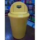 Tong Sampah Segi Bulat Plastik Lucky Star Lion Star Maspion AG Green Leaf Multiplast 4