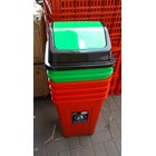 Tong Sampah Segi Bulat Plastik Lucky Star Lion Star Maspion AG Green Leaf Multiplast 3