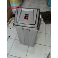 Tong Sampah Segi Bulat Plastik Lucky Star Lion Star Maspion AG Green Leaf Multiplast