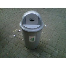 Tong Sampah Bulat Segi Plastik Lucky Star Lion Star Maspion AG Green Leaf Multiplast