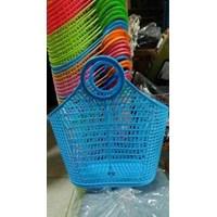 Keranjang Pasar Plastik Klip Skip Bag Maspion
