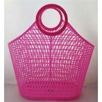 Jual Keranjang Pasar Plastik Shopping Basket Skip Bag Maspion