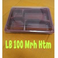 Beli Disposable Bento Box Kotak Makan Sekat Mika Sekali Pakai 4