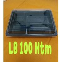 Disposable Bento Box Kotak Makan Sekat Mika Sekali Pakai Murah 5