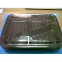 Disposable Bento Box Kotak Makan Sekat Mika Sekali Pakai