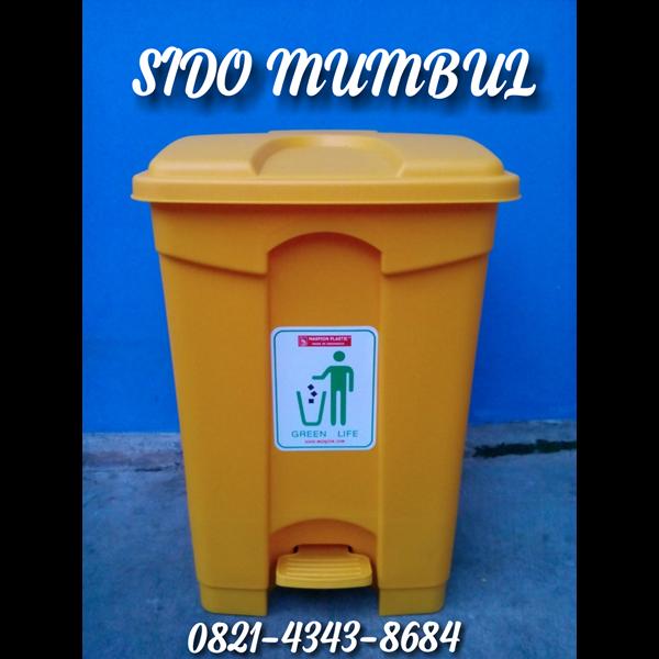 Tong Sampah Injak Pedal Pail Plastik MASPION