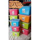 Favourite Container Box Plastik Kotak Warna Tutup Transparan Dengan Handle Maspion 3
