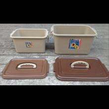 Boxer Kotak Parsel Ultah Selamatan Syukuran Plastik Piknik Box