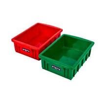 Bak Container Kotak Polos Buntu Plastik Lucky Star 1