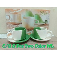 Distributor Cup and Saucer Cangkir dan Lepek Dinner Tea Set Keramik 3