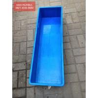 Box Kotak Plastik Ikan Segi Panjang Buntu