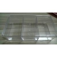 Jual Toples Candy Tray Segi Transparan Hardtop Sekat 3