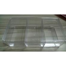 Toples Candy Tray Segi Transparan Hardtop Sekat 3