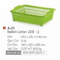 Distributor Keranjang Plastik Basket Letter Spoon Lion Star 3