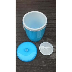 Rice Bucket Tempat Nasi Plastik Warung Depot Restoran Maspion