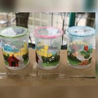 Distributor Toples Odate Calista Tutup Kedap Press Klip Plastik Transparan Karakter 3