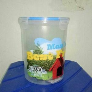 Toples Odate Calista Tutup Kedap Press Klip Plastik Transparan Karakter