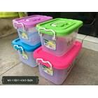 Kotak Box Plastik Transparan Parcel Parsel 1