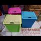Keranjang Pakaian Laundry Basket Plastik Rotan