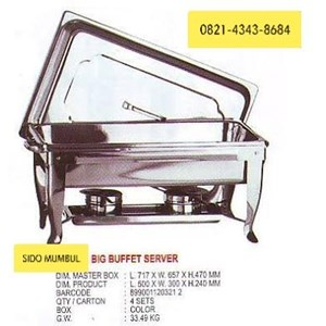 Penghangat Makanan Double Middle Big Buffet Server Maspion