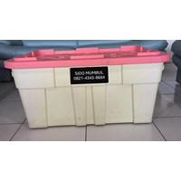 Distributor Heavy Duty Container Box Roda Industri Plastik Super Kuat 3