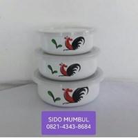 Beli Rantang Sauce Pot Pan Panci Susu Mixing Bowl Bunny Set Ayam Jago 4