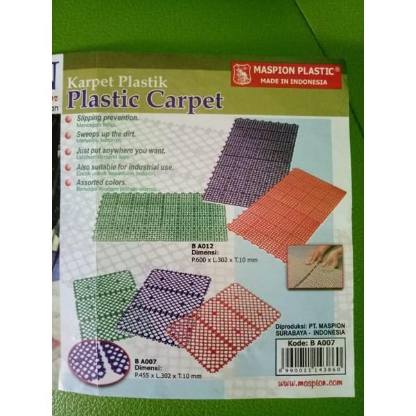 Karpet Plastik Plastic Carpet Foot Board Maspion