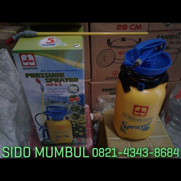 Hand Pressure Sprayer Semprotan Plastik