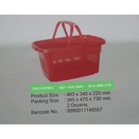 Jual Keranjang Pasar Plastik Hero Basket Indomaret Alfamart