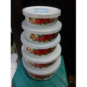 Dari Mangkok Mixing Bowl Enamel Set 5 Pcs Panda Maspion 1