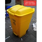 Tempat Sampah Plastik BIO EARTH Green Leaf 1
