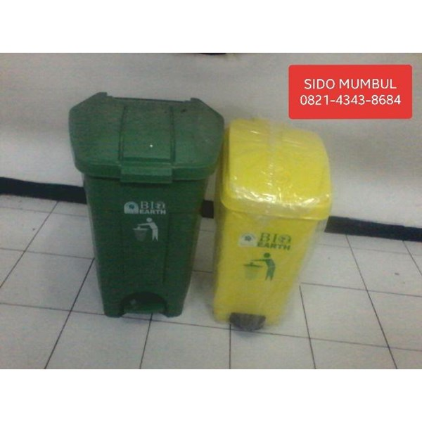 Tempat Sampah Plastik BIO EARTH Green Leaf