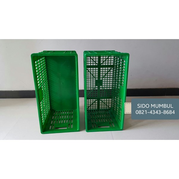 Jual Krat Industri Lubang Original Top Star Rabbit Green Leaf