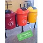 Tong Tempat Sampah Single Double Triple Gantung Tanam Fiber Glass 50 Liter 3