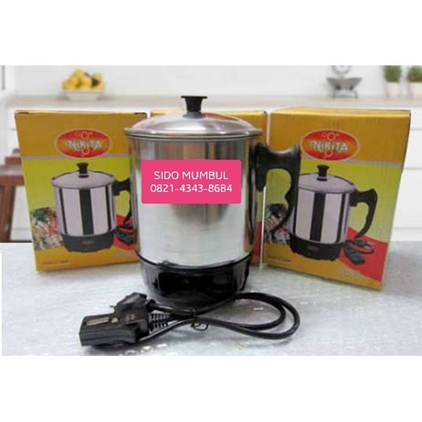 Mug Elektrik Stainless Steel Electric Heating Cup