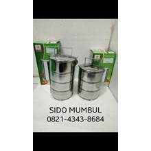 Stainless Steel Stackable Food Carrier