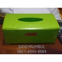 Kotak Tissue Segi Plastik Relief Catty Maspion 1