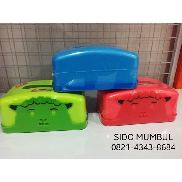 Kotak Tissue Segi Plastik Relief Catty Maspion