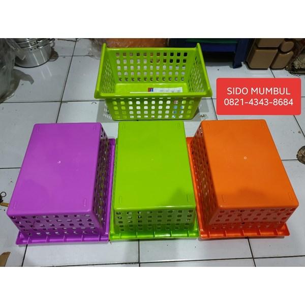 Keranjang Plastik Lucky Container L dan XL