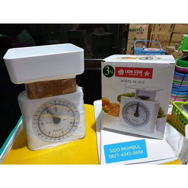 Timbangan Tepung Kue Pegas Jarum Plastik Daging Qurban