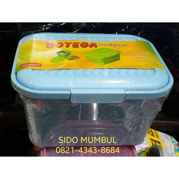 Toples Kotak Berkat Piknik Kurban Plastik Sekat Samir Botega
