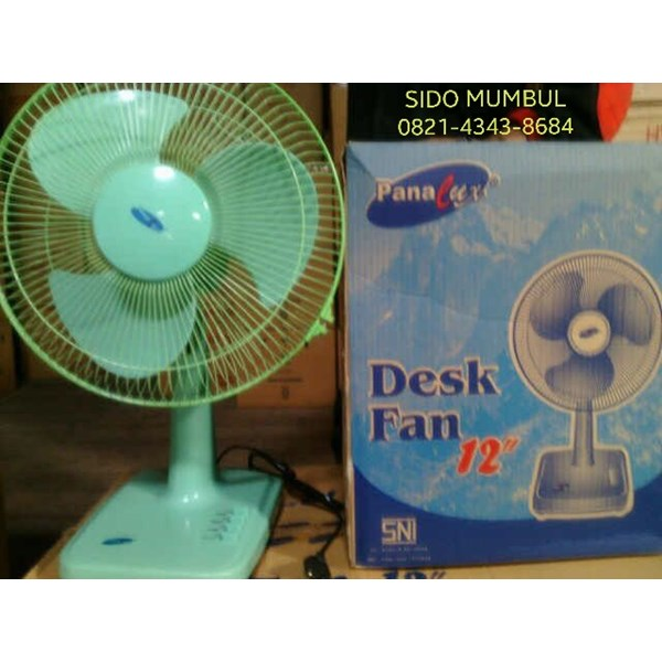Kipas Angin Meja Desk Fan Panalux 9 in dan 12 in