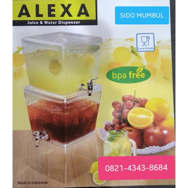 Dispenser Air Minum Akrilik