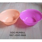 Mangkok Makan Plastik Jumbo Warna 2